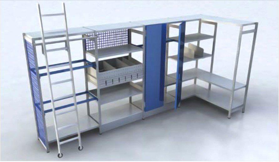 Scaffalatura magazzino sicilscaff for Arredamento magazzino
